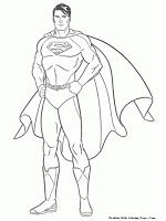 Man Of Steel Coloring Pages Superhero Coloring Pages Cartoon Coloring Pages Superhero Coloring
