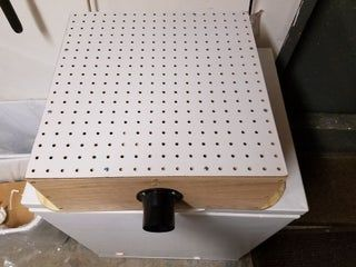Sanding Table #woodworkingprojectschair Sanding Table: 7 Steps (with Pictures) #woodworkingprojectschair