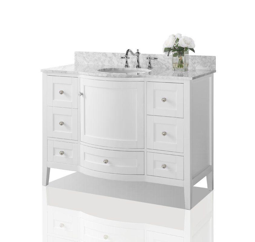 Lauren 48 Single Bathroom Vanity Set Small Bathroom Decor