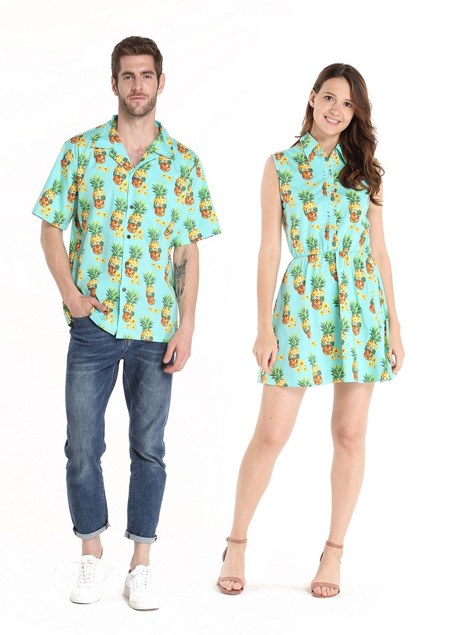 Pants Dress Set Girl Holloween Beach Hawaiian Cruise Luau Floral Turquoise Flora