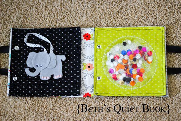 beth 39 s adorable felt book for baby quiet book ideas pinterest f hlbuch taufgeschenke und. Black Bedroom Furniture Sets. Home Design Ideas