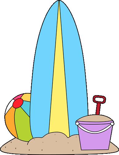 surfboard and beach toys summer kids clip art pinterest toy rh pinterest com sand toys clipart png Beach Fun Clip Art