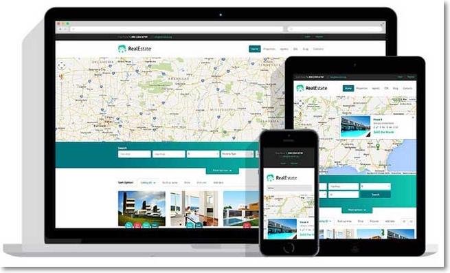 Nueva Solución Para Atraer Clientes: Tema Real Estate Agency para ...