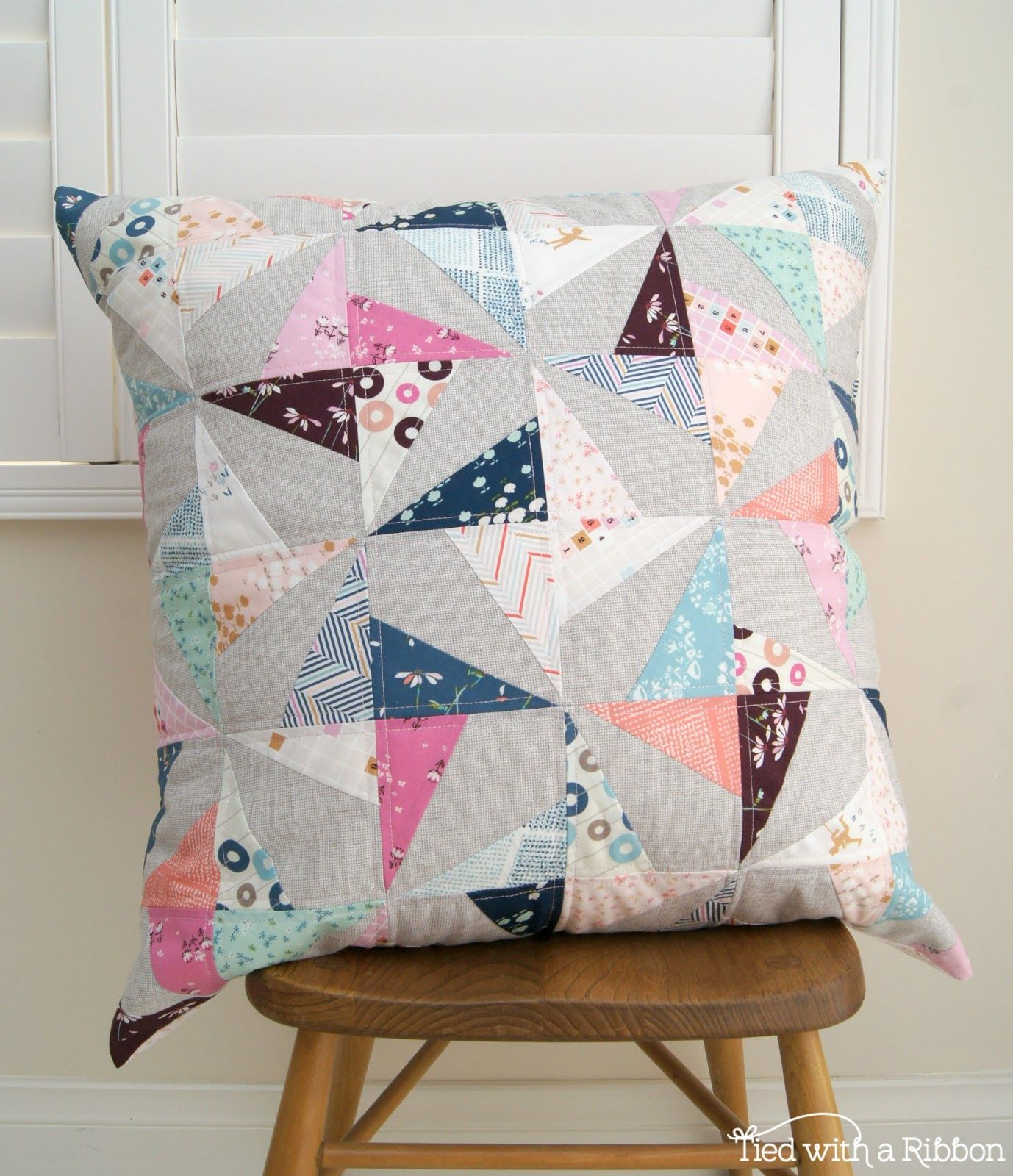 Tied with a ribbon playground showcase patchwork pinterest