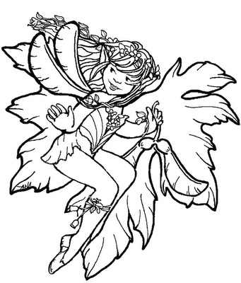 Flower Fairies Coloring Book Review | Coloring Queen | 400x341