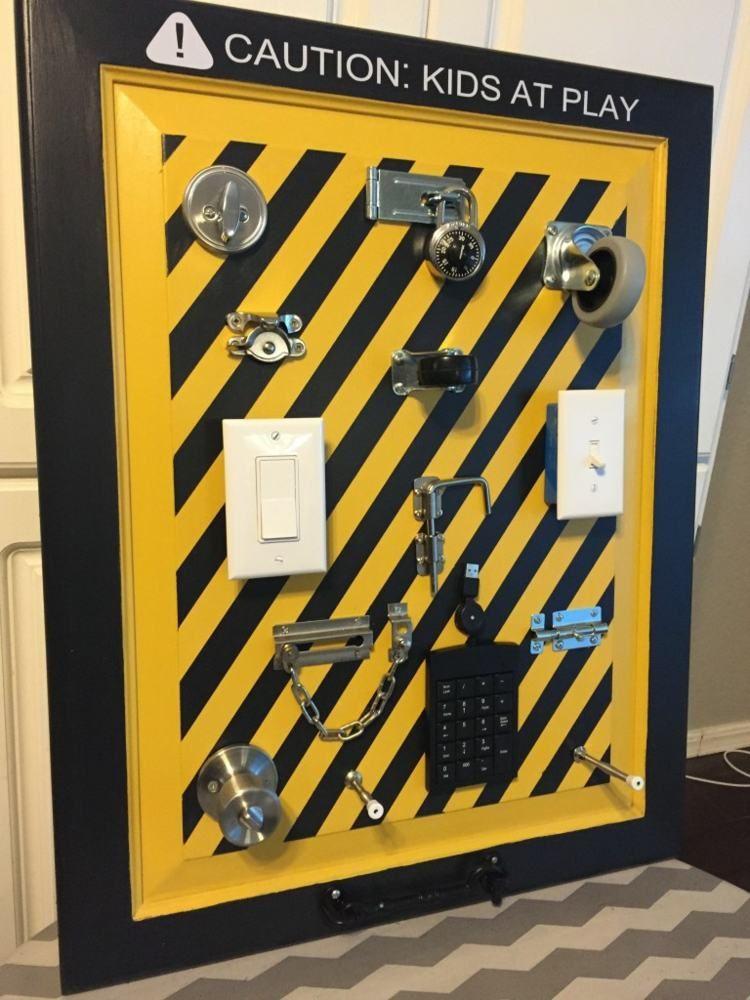 activity board selber machen das klicken von schaltern. Black Bedroom Furniture Sets. Home Design Ideas