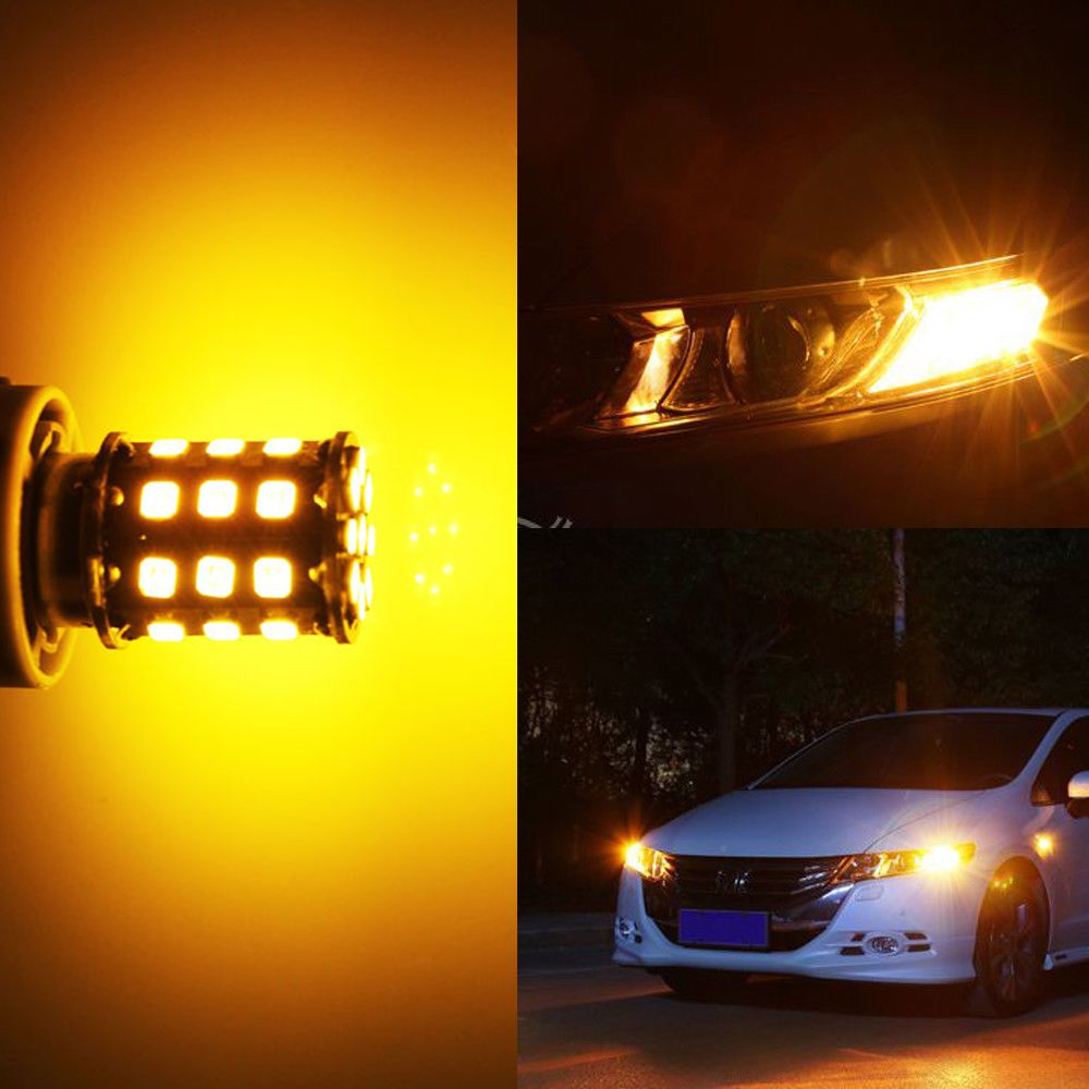 1156 BA15S Car RV LED Bulb MuHize Super Bright 6000K White 2018 New Design DC