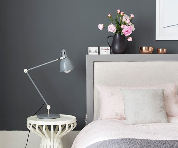 Pink Headboard Bedroom Color Schemes