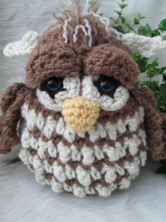 Simply Cute Owl Crochet Pattern | Pinterest | Owl, Lana y Juguetes