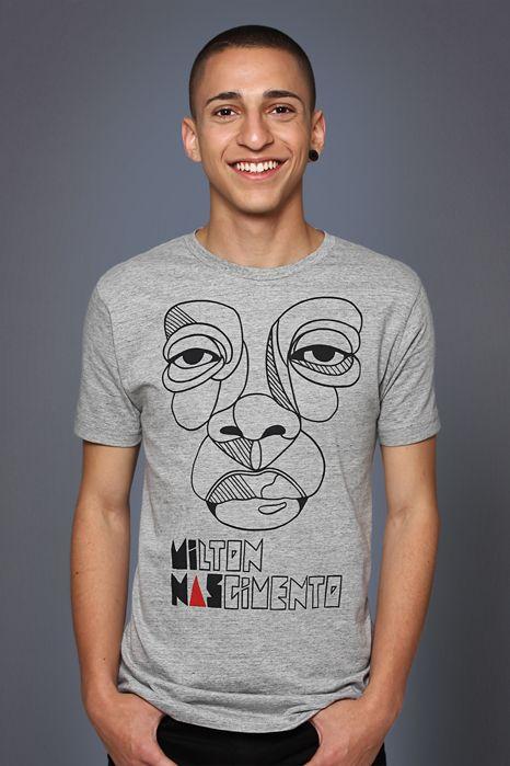 Camiseta Milton Nascimento   Styling in Minas   Pinterest   Style ... 67b2e85e75