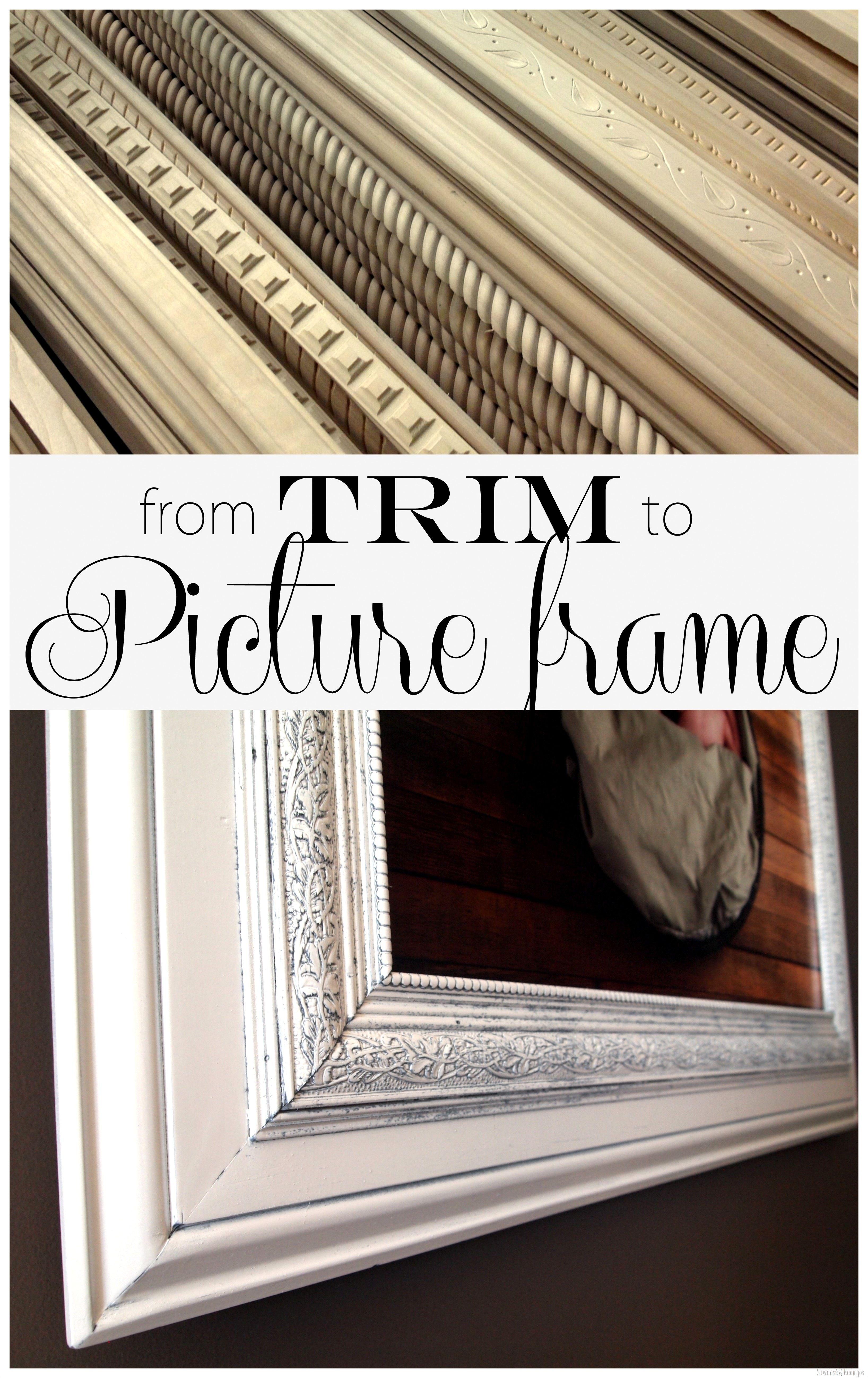 Build a custom frame out of trim pieces layering craft and build a custom frame out of trim pieces jeuxipadfo Images