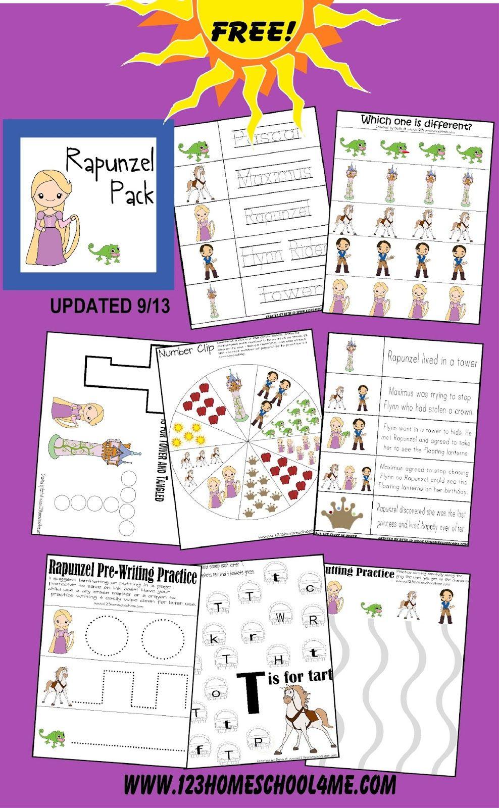 Rapunzel Whats Inside Jpg 988 1 600 Pixels Preschool Worksheets Free Printables Free Preschool Worksheets Preschool Activities [ 1600 x 988 Pixel ]