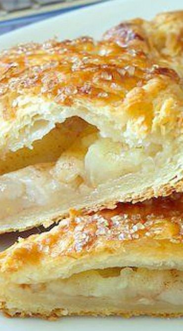 Apple Cinnamon Turnovers In Sour Cream Pastry Puff Pastry Recipes Pastry Recipes Best Breakfast Recipes