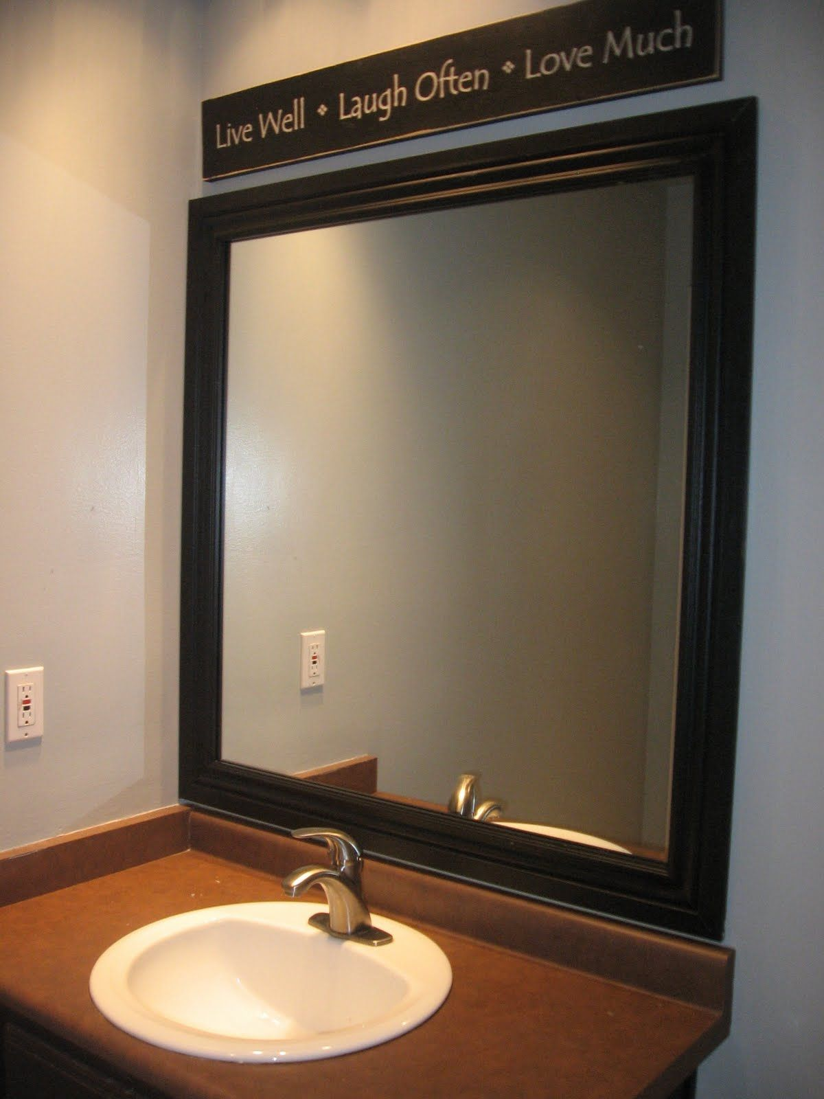 25+ Best Bathroom Mirror Ideas For a Small Bathroom | Pinterest ...