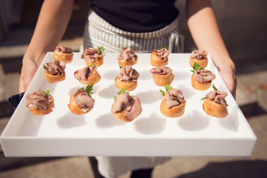 Canapes kalm kitchen catering food displays food