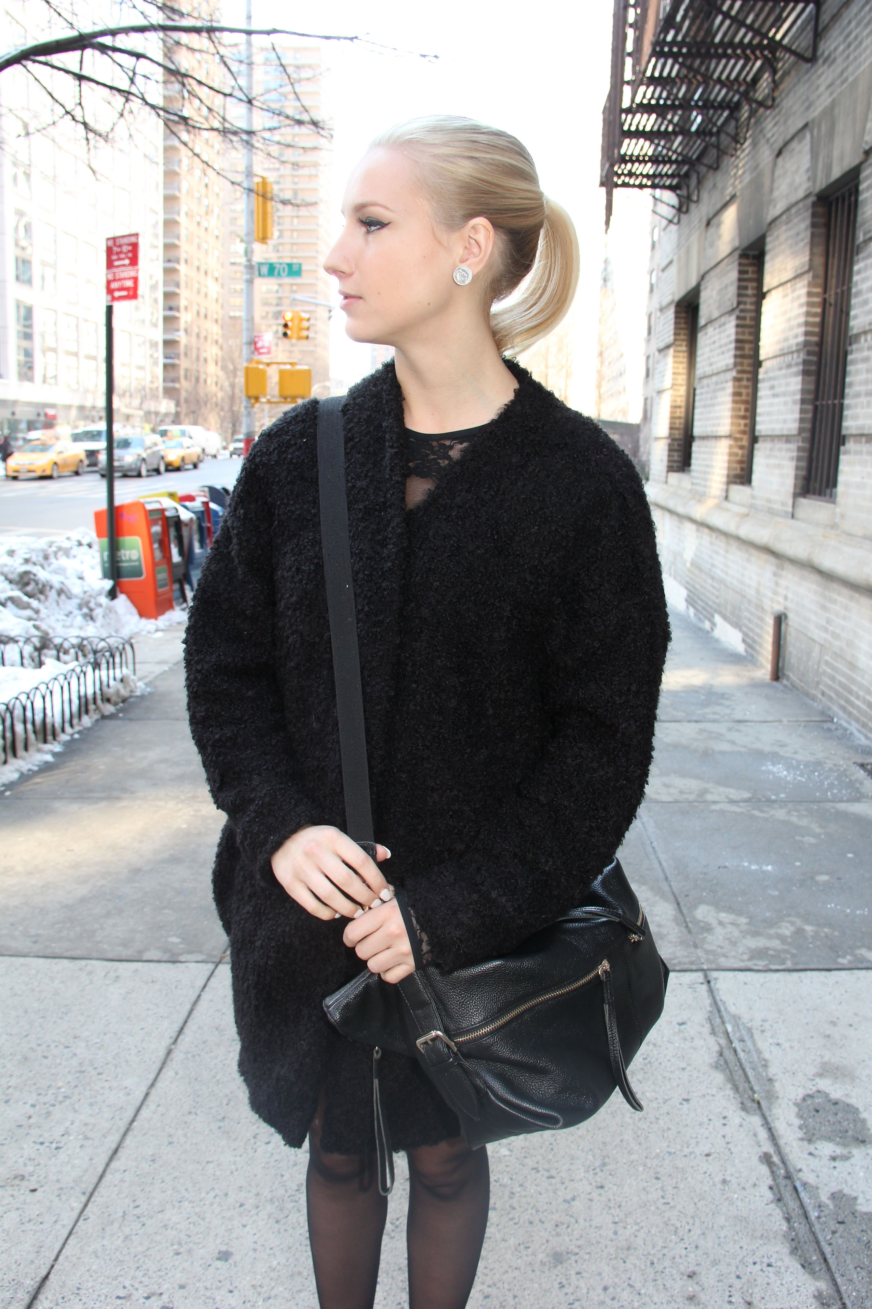 Hair styled by TONI&GUY Hoboken salon #NYFW | Blogger Danica