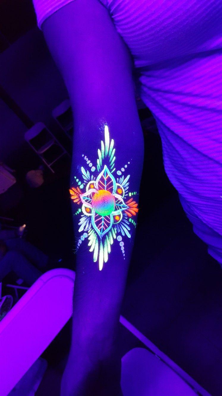 Pin De Ayrun Amilibia En 3 Materiales Tatuaje Uv Maquillaje Fluor