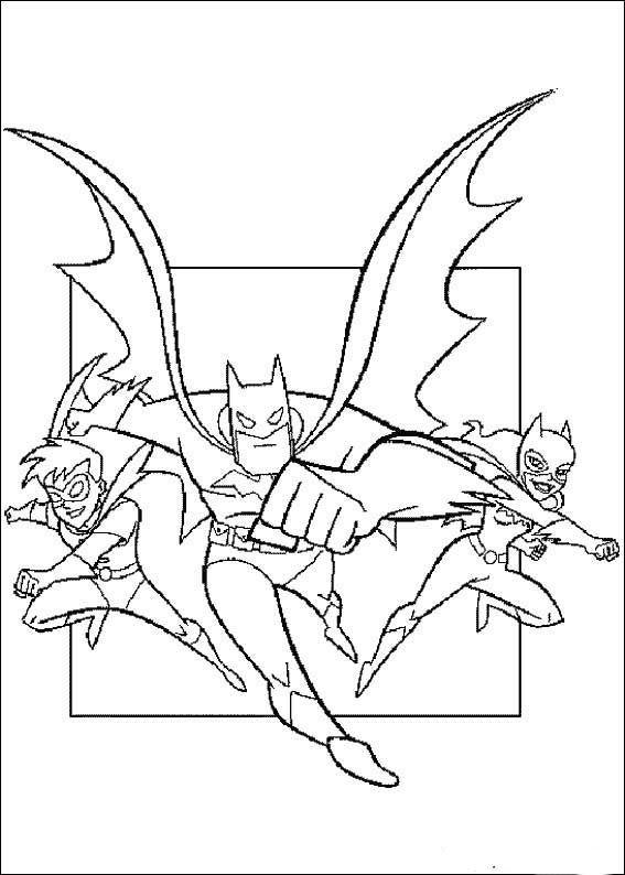 Kleurplaten Batman En Robin.Kleurplaten Batman 50 Kleurplaat Kleurplaten Voor Kinderen