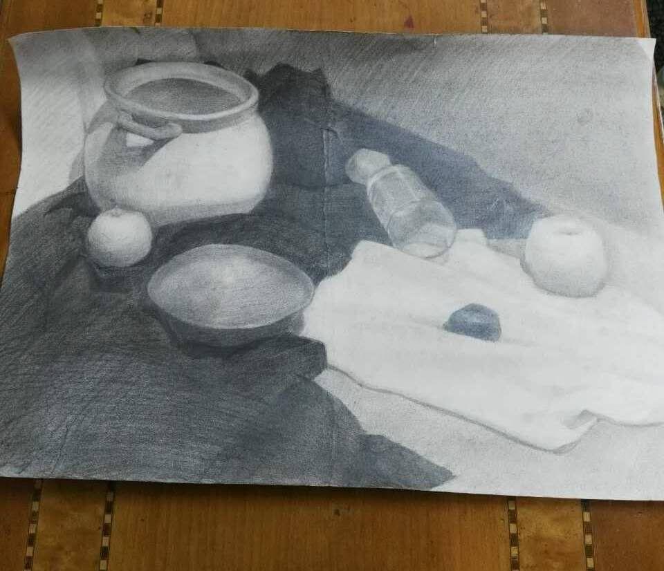 sketching practice in Beijing. A3