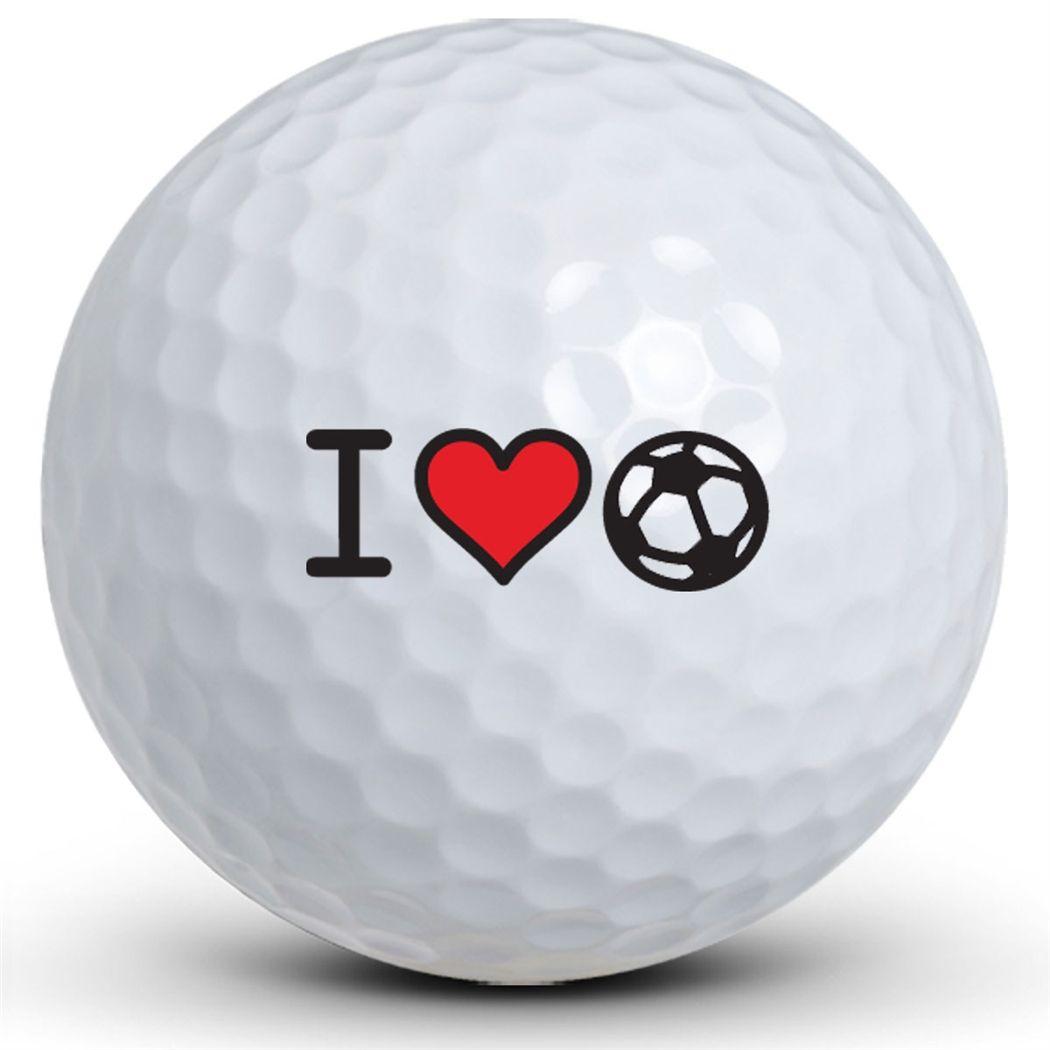I Heart Soccer Golf Balls Golf Ball Golf Ball
