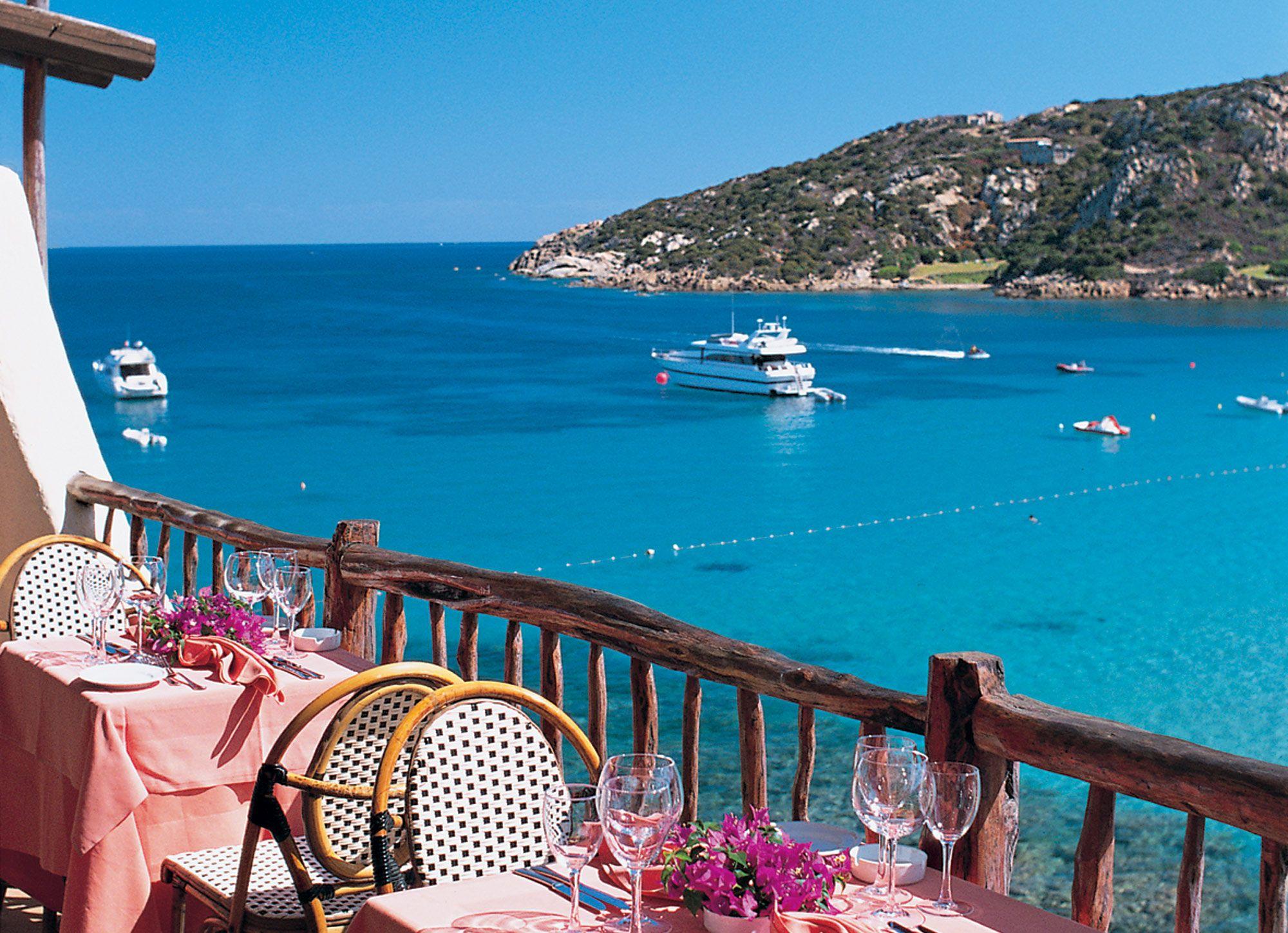 Baia Sardinia Beach Fron The Club Hotel Italy Holidays Sardinia