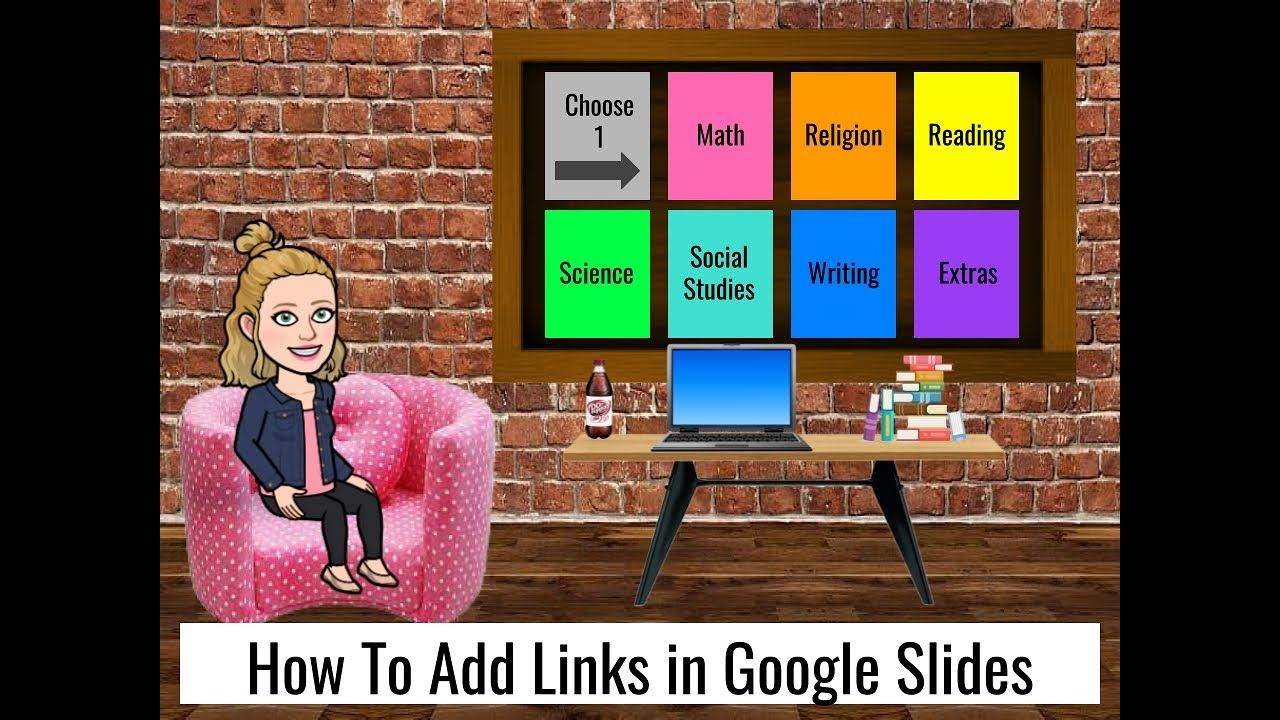 How to Add Links in Google Slides YouTube in 2020