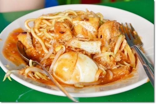 Mee Rojat At At Haji Shariff Cendol In Town Food