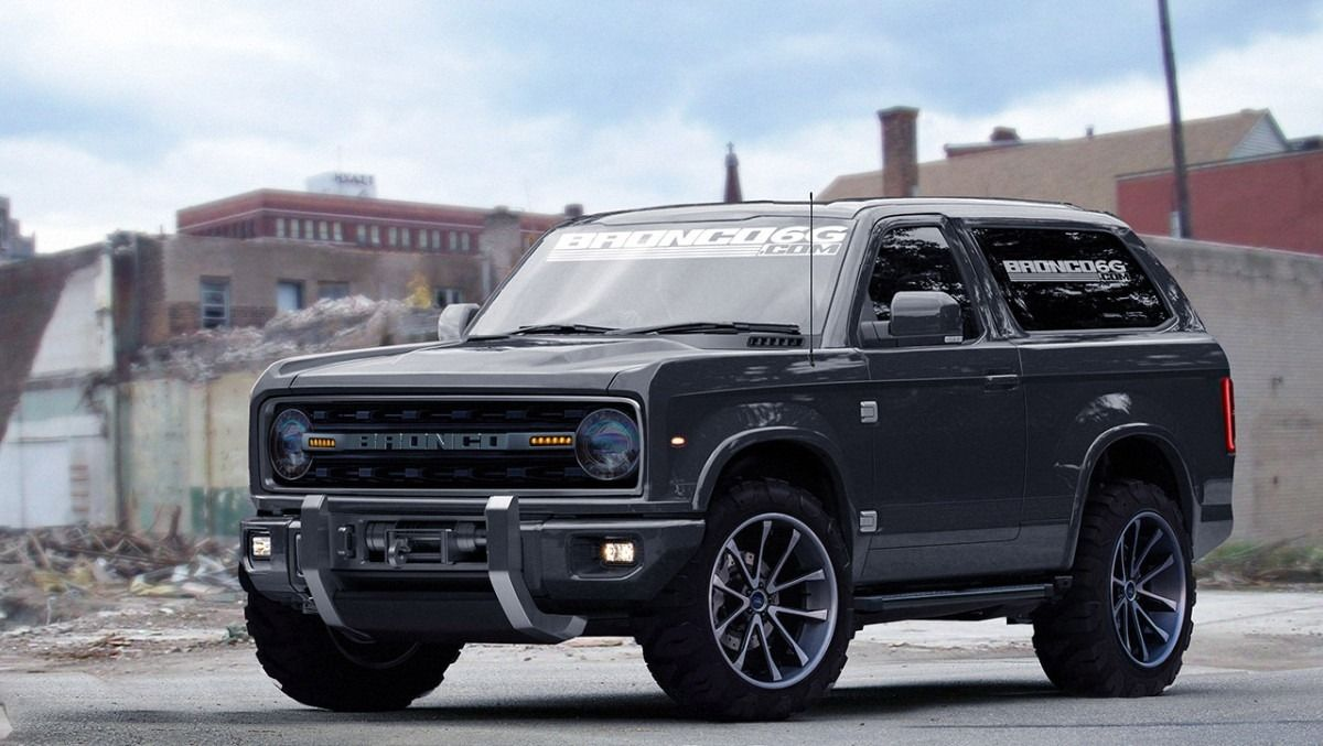 Best 2018 Ford Bronco Black Redesign And Price