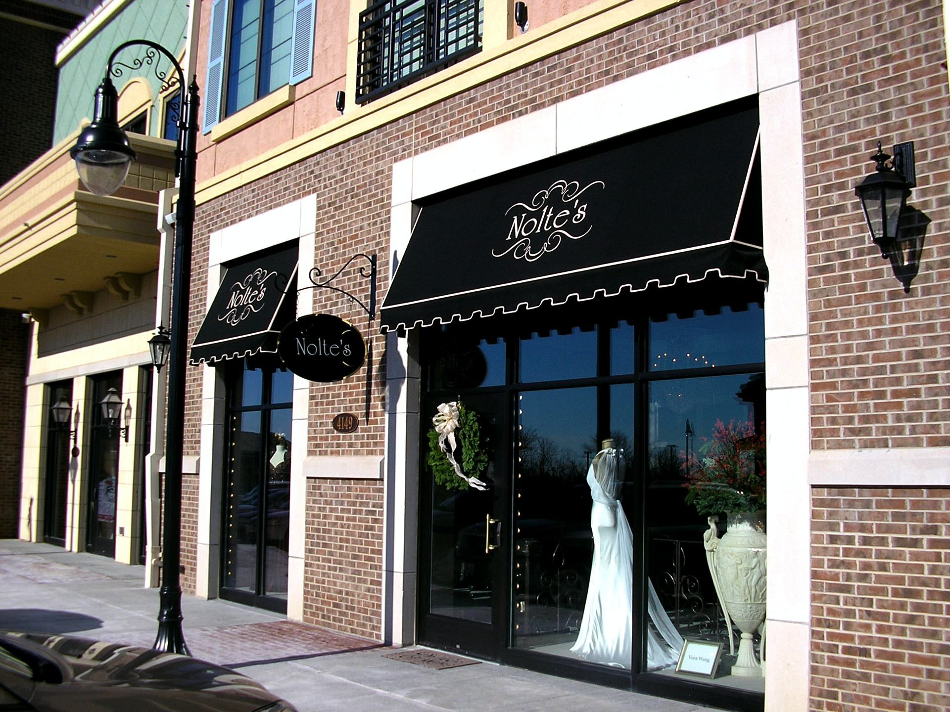 Pictures Of Boutique Store Fronts With Black Awnings