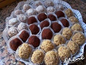 Trufas de chocolate - Recetas Judias
