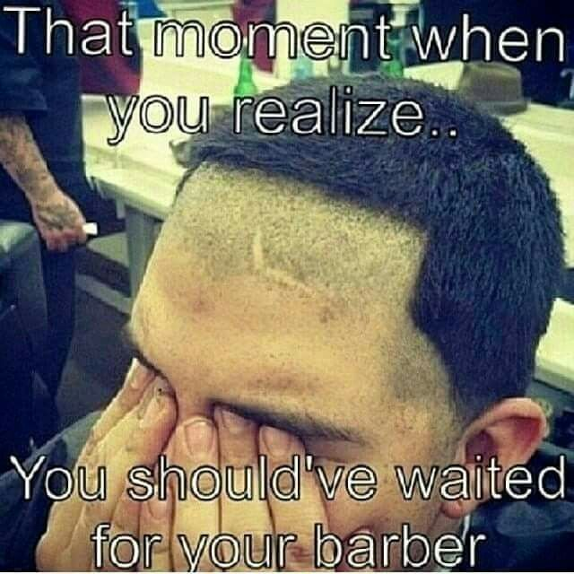 Could Happen To You Haircut Quotes Funny Hairdresser Humor Haircut Funny
