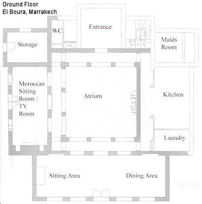 riad house plans - بحث Google House Plans Pinterest House