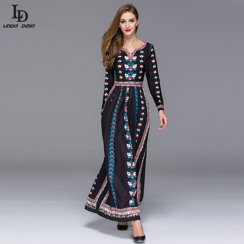 Buy long sleeve maxi dress online