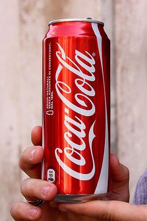 volume canette coca