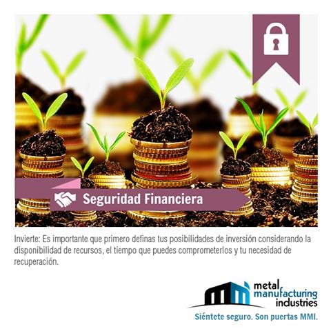 Por tu #SeguridadFinanciera es necesario que te asesores bien cuando pienses en invertir.