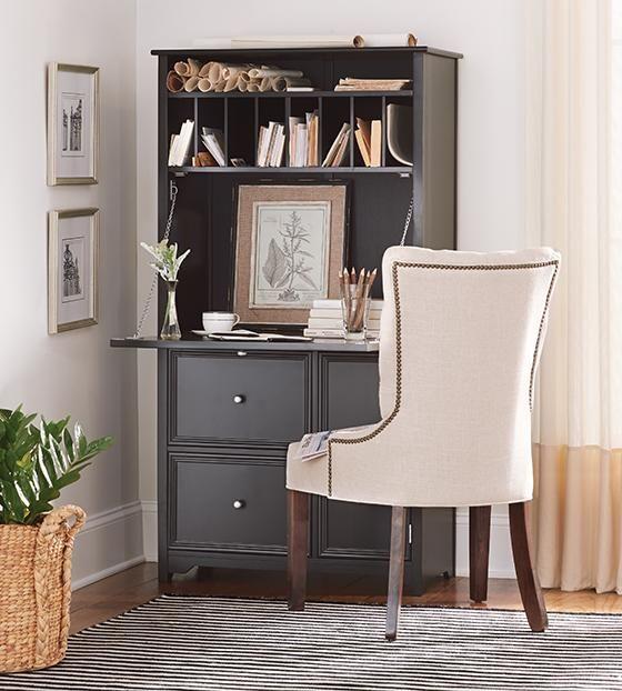Oxford Tall Secretary Desk  Nice Desk Option For A Bedroom