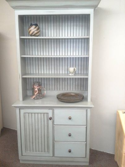 Superbe This Piece Was Finished At Four Sisters Furniture With General Finishes  Persian Blue Milk Paint And