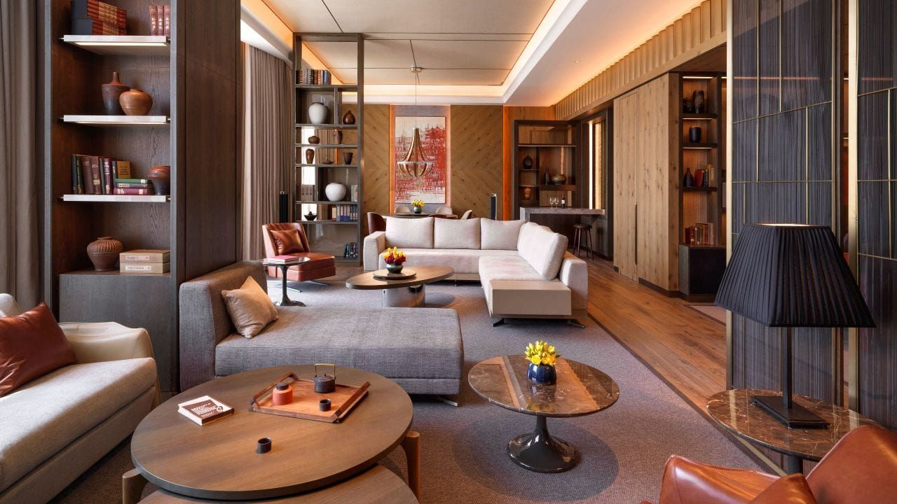 Presidential Suite Living Room Grand Hyatt Hotel Lounge Home N