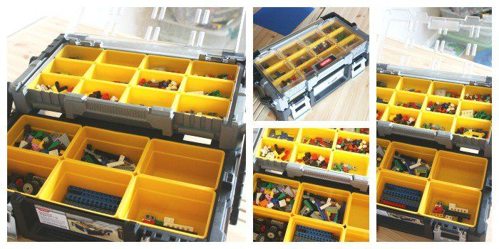 Lego Organization Ideas Hardware Store Lego Storage Ideas