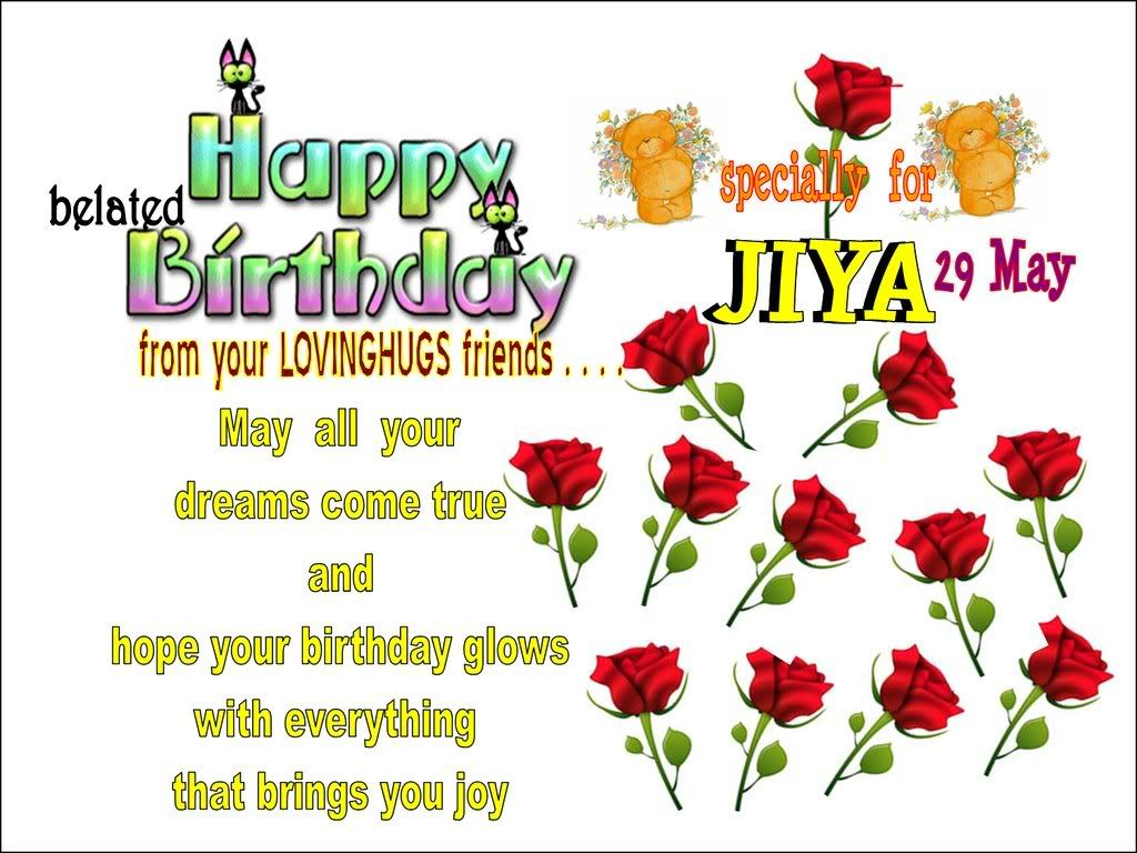 late happy birthday wishes – Late Birthday Greeting