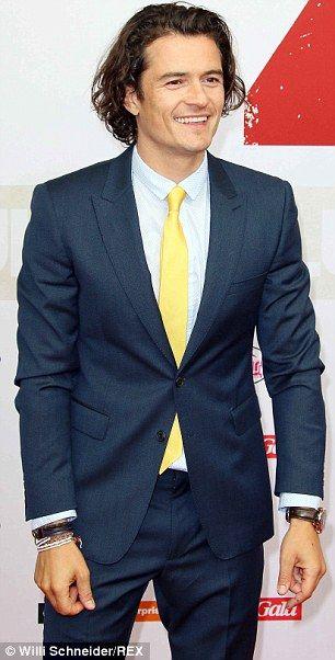 Yellow dress shirt black suit