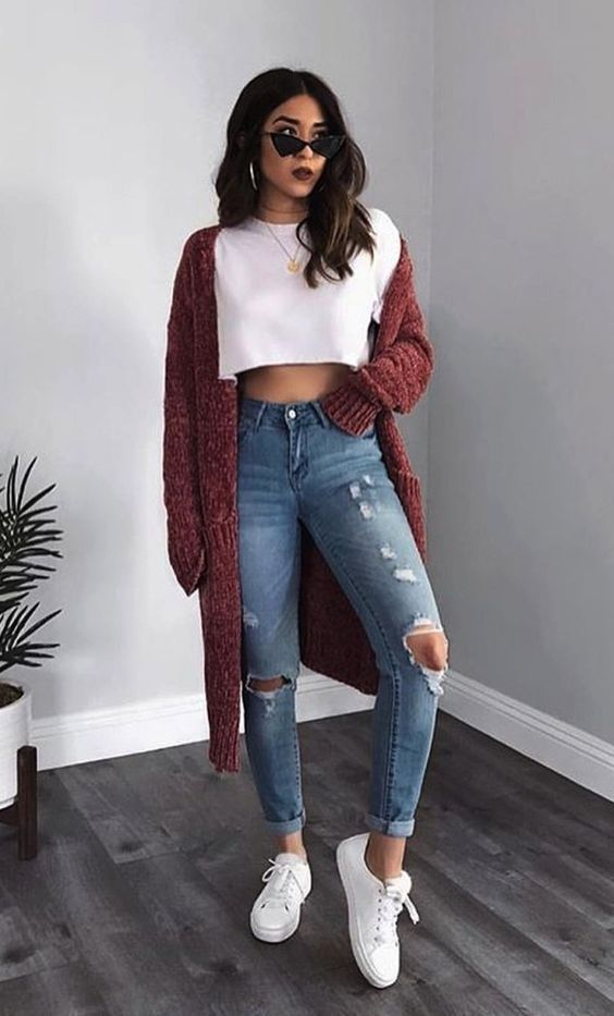 8 Casual Outfits You Should Wear To Look Younger,  #8 #Casual #Look #Outfits