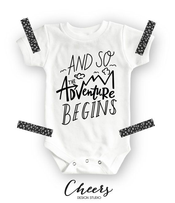 Hipster Baby Gift Ideas : And so the adventure begins onesie? baby shower gift