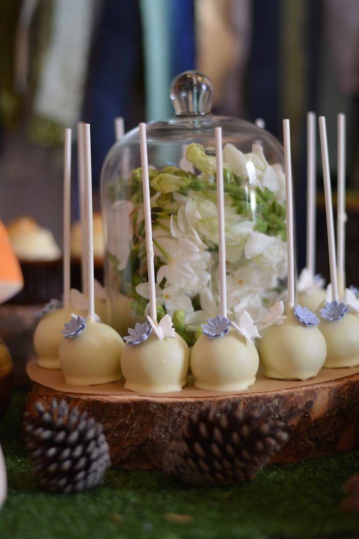 Woodland theme pop cakes (fox, racoon, deer, owl) | Areg's ... |Woodland Cake Balls