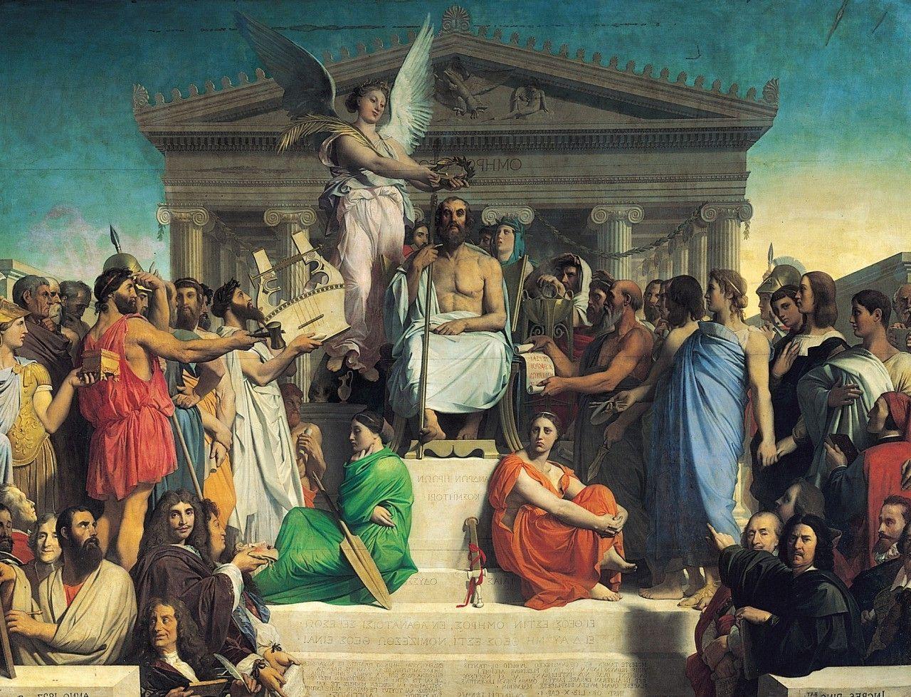Classic Art Painting History Greek Mythology Artwork