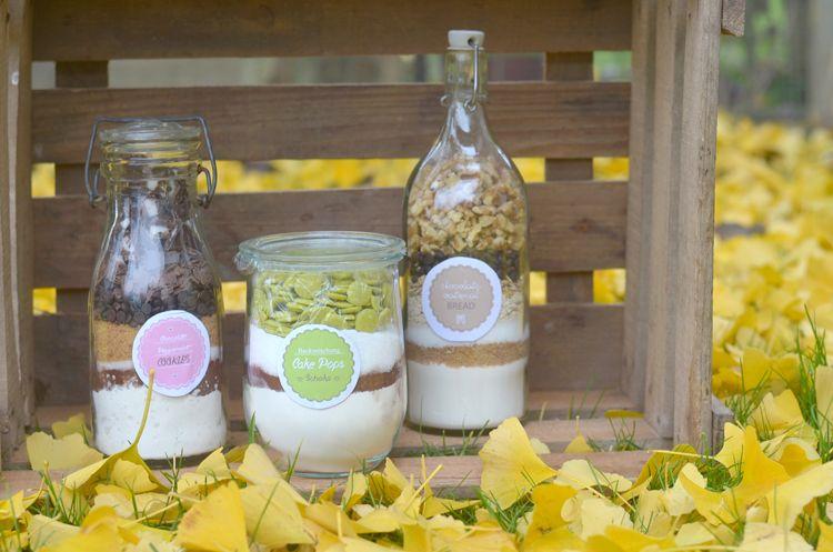 Backmischungen Im Glas Selber Machen: Rezepte Und Aufkleber Für  Backmischungen Im Glas, Wie Cookies