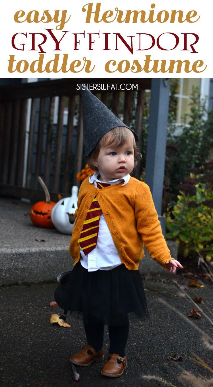 9e901d5f1 easy little toddler witch hermione granger Harry Potter Hogwarts Gryffindor  student costume