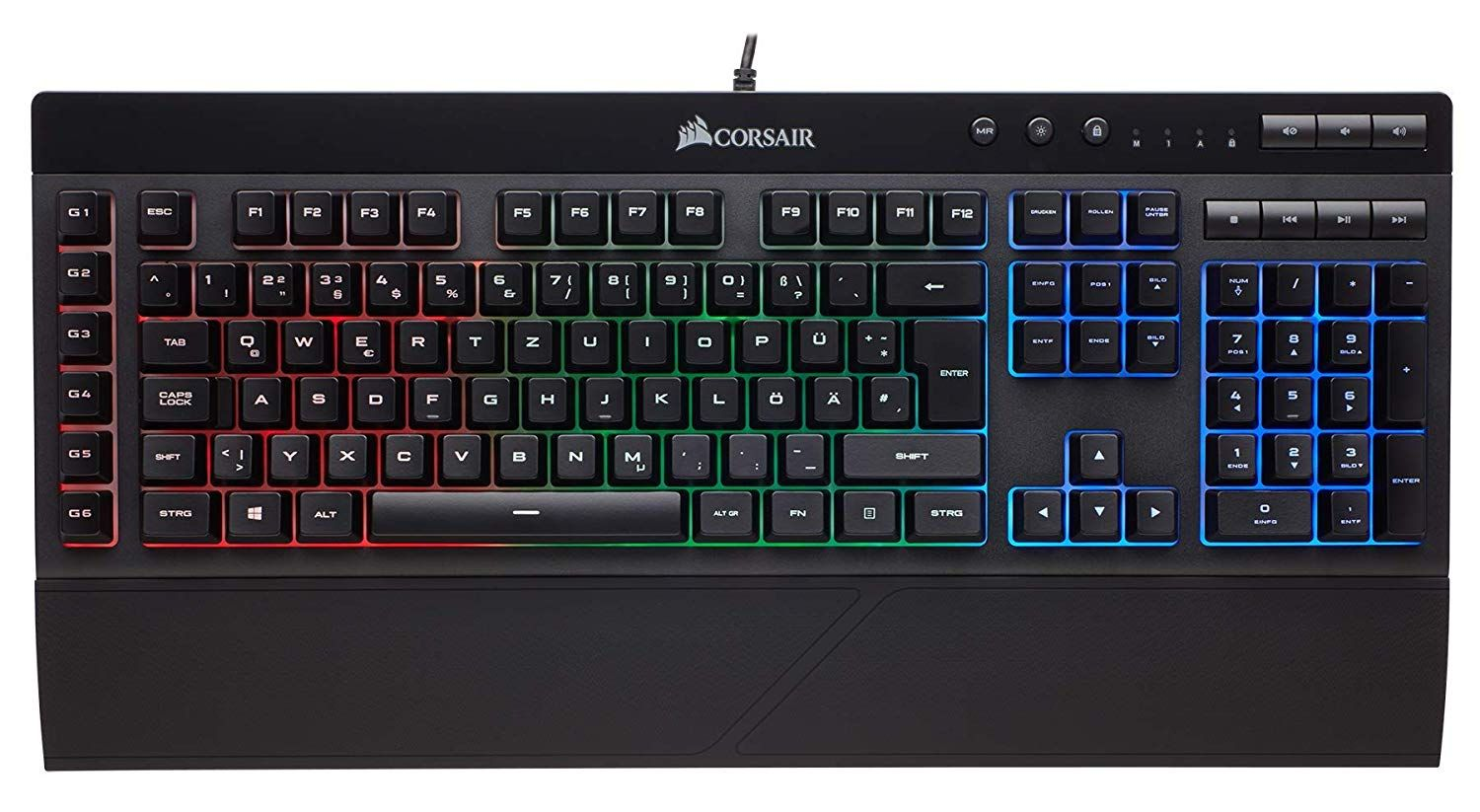 Corsair K55 Gaming Tastatur Fur 39 Amazon Tastiera Bio Nero