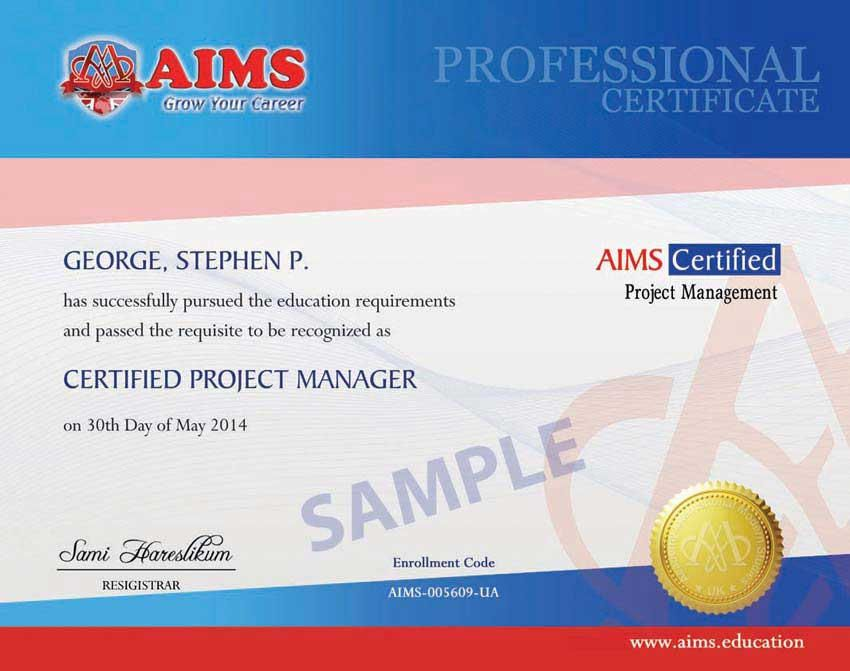 Online Project Management Certification1 Project Management