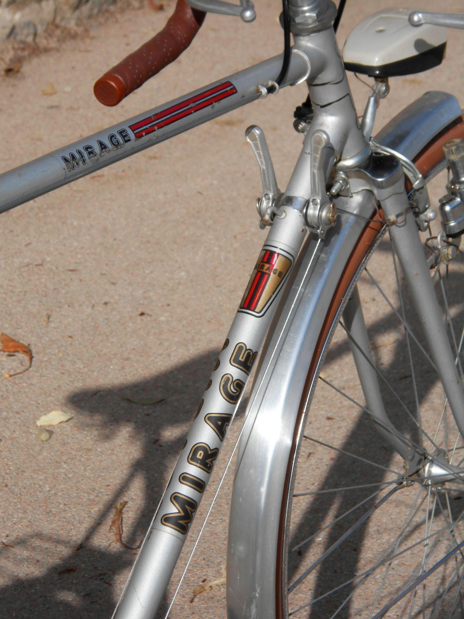 Rare Vintage Bicycle Mirage 70 S Vintage Bicycles Bicycle Vintage